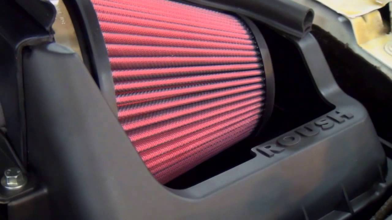 ROUSH TV: ROUSH F-150 Cold Air Intake - YouTube