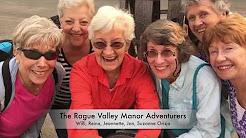 Rogue Valley Manor Residents Zip Dip Sip