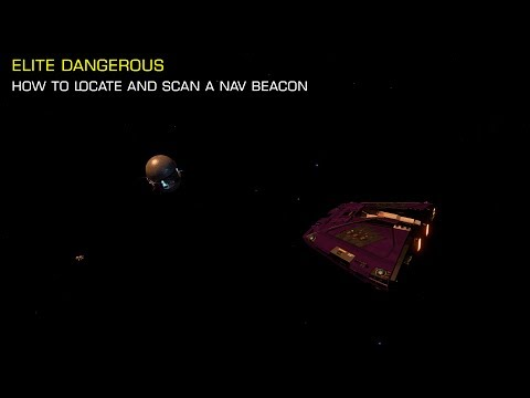 Elite Dangerous Tutorial - How to scan a Nav Beacon