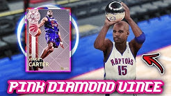 0fff23a1d NBA 2K18 PINK DIAMOND REWARDS VINCE CARTER IS UNSTOPPABLE!!  50 POINTS