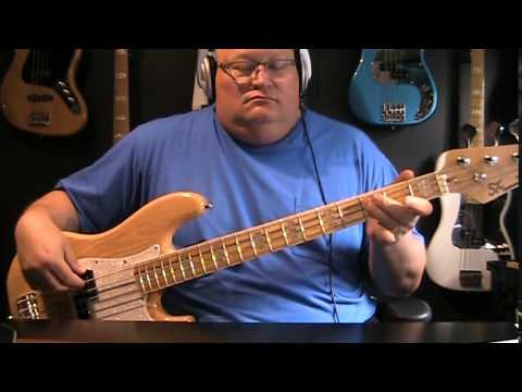 Colin James Standing On The Edge Bass Cover With Notes Tablature