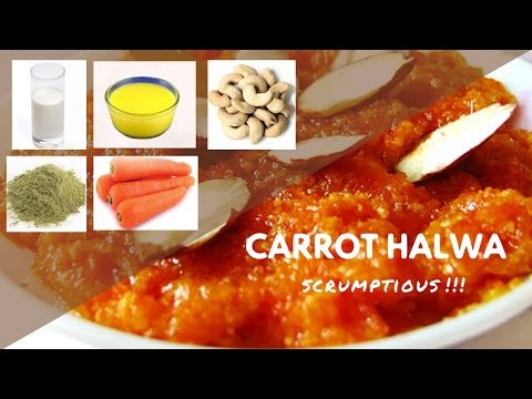 How To Make Carrot Halwa  - Quick One Minute Video
