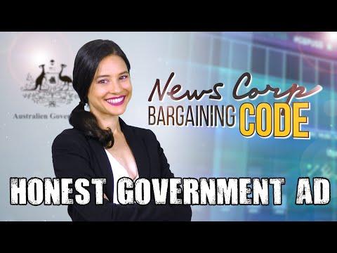 Honest Government Ad | News Media Bargaining Code