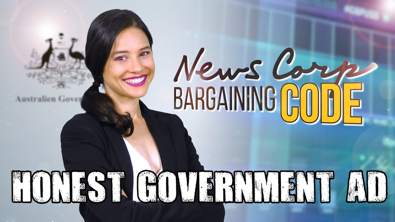 Honest Government Ad | News Corp Bargaining Code [MIRROR]