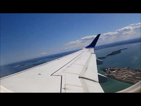 Jetblue E190 Boston - New York (LGA) Full Flight