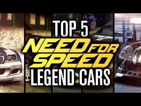 TOP 5 ICONIC NEED FOR SPEED CARS