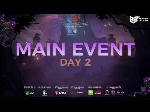 Team Secret vs Evil Geniuses   The International 9   Main Event Day 2   23 Creative VN
