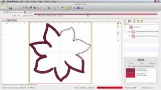 How to Turn an Applique Design into a 3D Corsage with Embrilliance