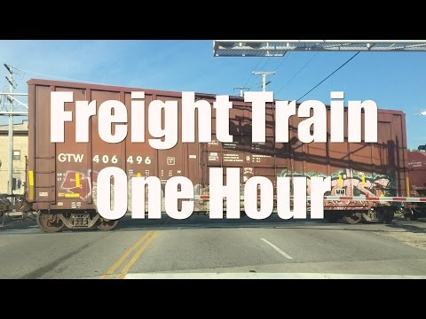 Freight Train Sound and   One Hour