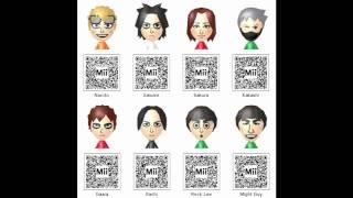 Nintendo 3DS - Mii QR Codes Pack 6 - Gaming!