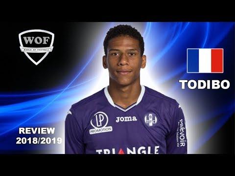 JEAN-CLAIR TODIBO | Fantastic Goals, Skills, Assists | Toulouse | 2018/2019 (HD)
