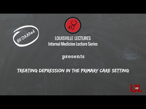 Treating Depression in the Primary Care Setting with Dr. Sager