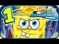 SpongeBob Atlantis SquarePantis Walkthrough Part 1 (PS2, Wii) ☼ Level 1 ☼