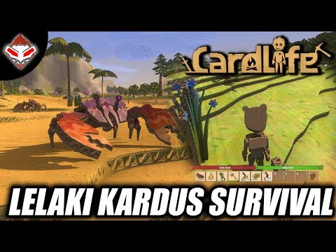 Lelaki Kardus Survival - CardLife - PC Games Review