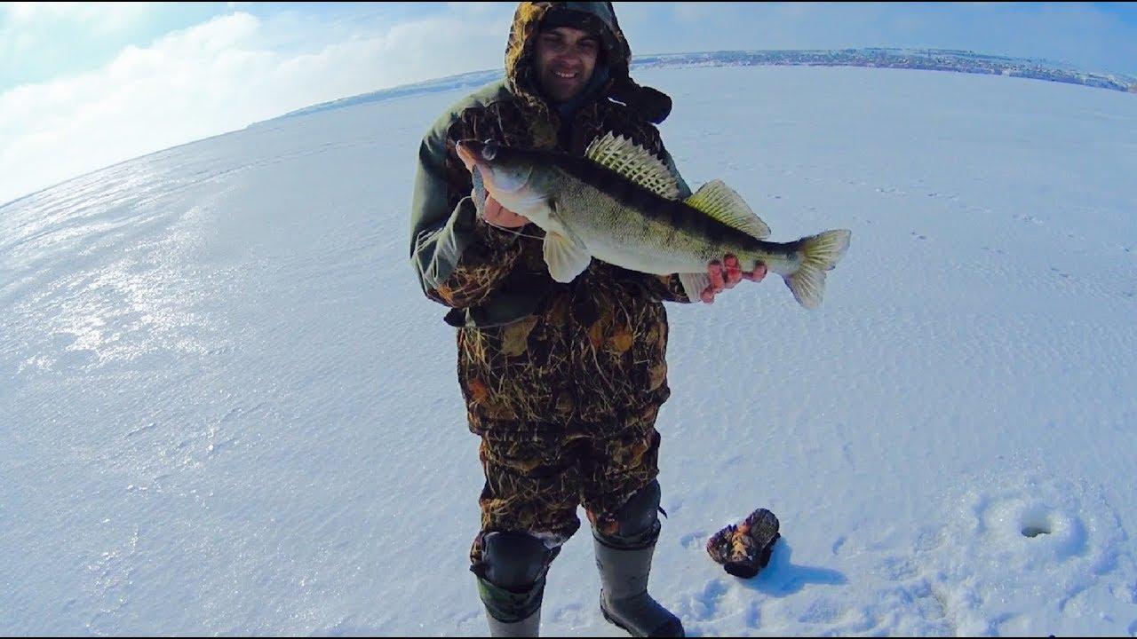 НИЧЕГО СЕБЕ КАКИЕ ЗДЕСЬ СУДАКИ!!!Ловля Добрых судаков зимой на Волгоградском водохранилище 2019