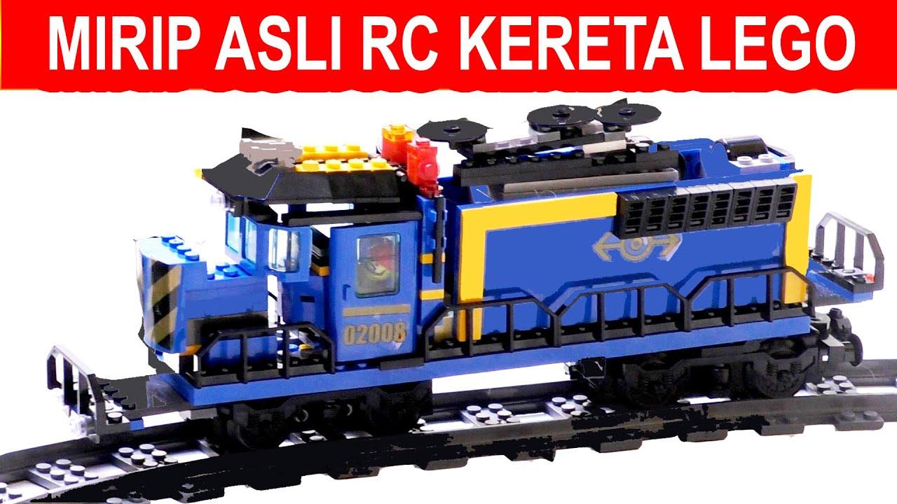 ALAT UNIK RC KERETAPI API LEGO, CANGGIH, MELATIH KREATIFITAS