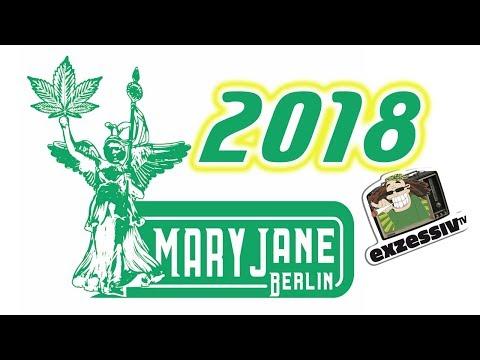 N° 506 Mary Jane 2018 - Hanfmesse wieder in Berlin