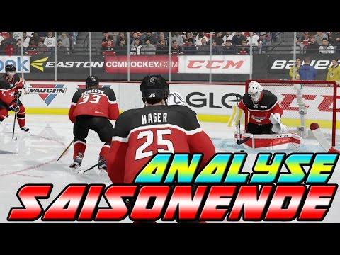 Analyse zum Saisonende meiner Kölner Haie 🎮🏒🦈 | NHL 17 Ultimate Team #020