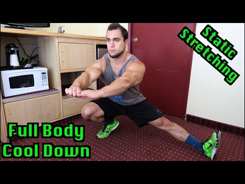 Full Body 10 Minute Static Stretching Cool Down for Intense Workouts