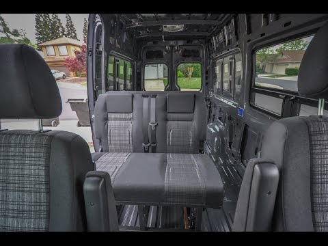 Rock N Roll Rib Seat Bed Install In A Mercedes Sprinter Camper Van