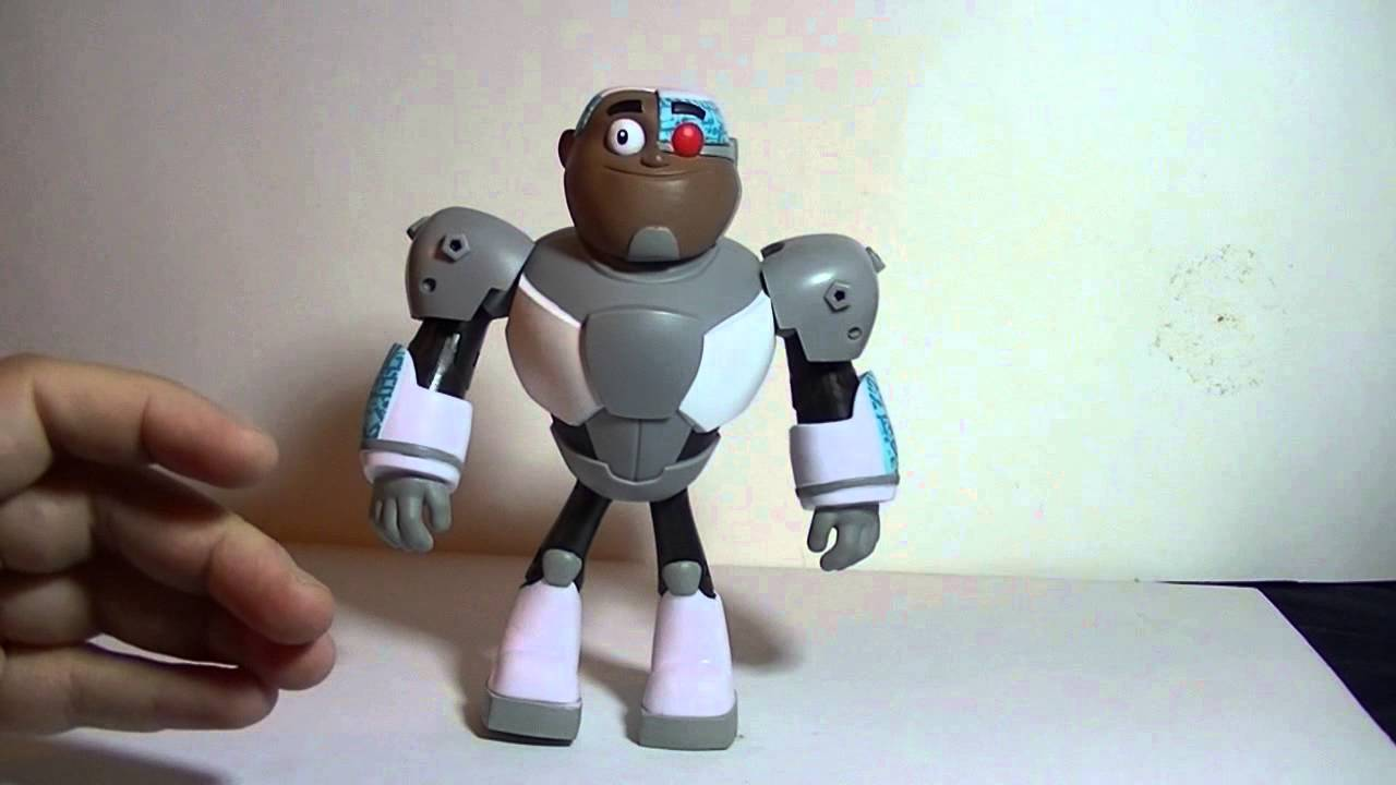 Teen Titan Toy : Wakeangel k reviews cyborg teen titans go youtube