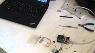 Draw! hardware - Stepper motor test 1