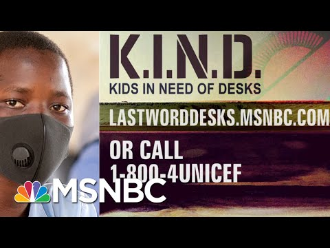 Lawrence: 'Your Generosity For K.I.N.D. Has Left Me In Awe' | The Last Word | MSNBC