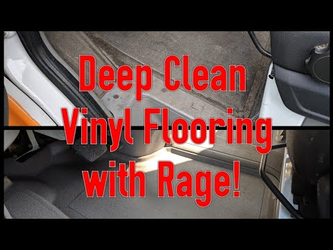 How to deep clean vinyl flooring (or weathertech mats) - Superior Products Rage!