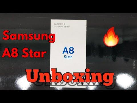 Samsung galaxy A8 Star Unboxing