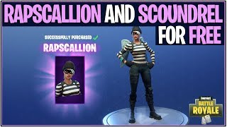 *NEW* Fortnite: RAPSCALLION AND SCOUNDREL SKIN FOR FREE! | (Battle Royale Giveaway)