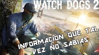 Vídeo Watch Dogs 2