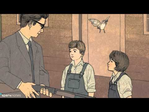 Video Sparknotes Harper Lees To Kill A Mockingbird Summary Youtube