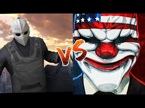 Armed Heist VS Payday Crime War - Game Comparison