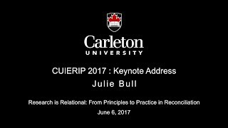 CUIERIP 2017 Tues Keynote Speaker J Bull