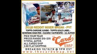 2018 Mixer Break for Reddit #2