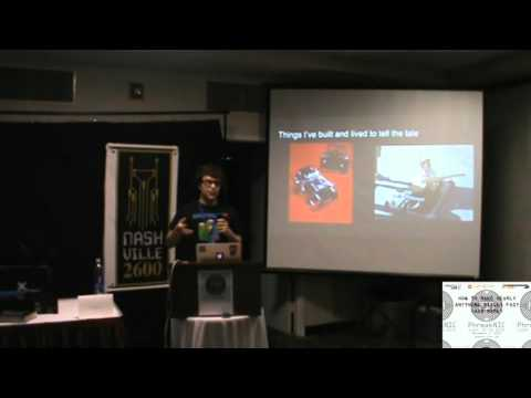 PhreakNIC19 - How to make nearly anything super fast - Chad Ramey