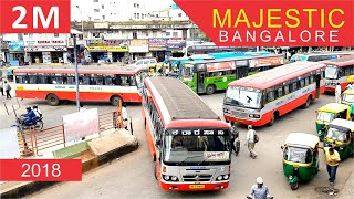 All about Majestic Bangalore | Kempegowda Bus Station | Metro Station |