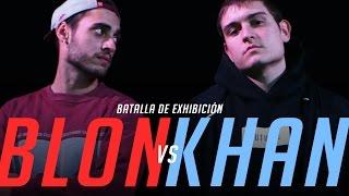 BLON vs KHAN Exhibición BDM Gold España 2016