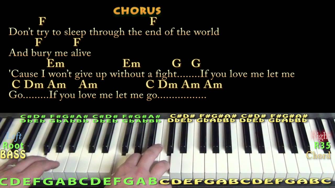 This Is Gospel (PANIC! At the Disco) Piano Cover Lesson in C with Chords/Lyrics - YouTube