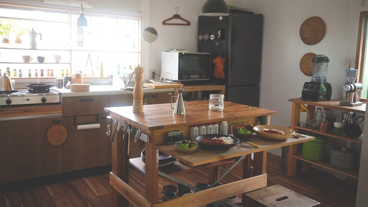 築50年以上のキッチンにカウンター作りました。#188