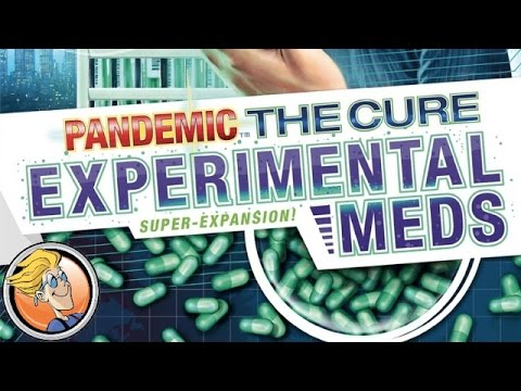 Pandemic: The Cure – Experimental Meds — SPIEL 2016 overview from Matt Leacock
