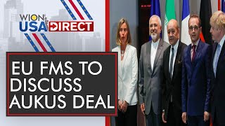 WION-USA Direct: European Union foreign ministers to meet over submarine dispute  Aukus Deal   World