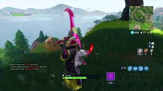 Fortnite axe fight with someone