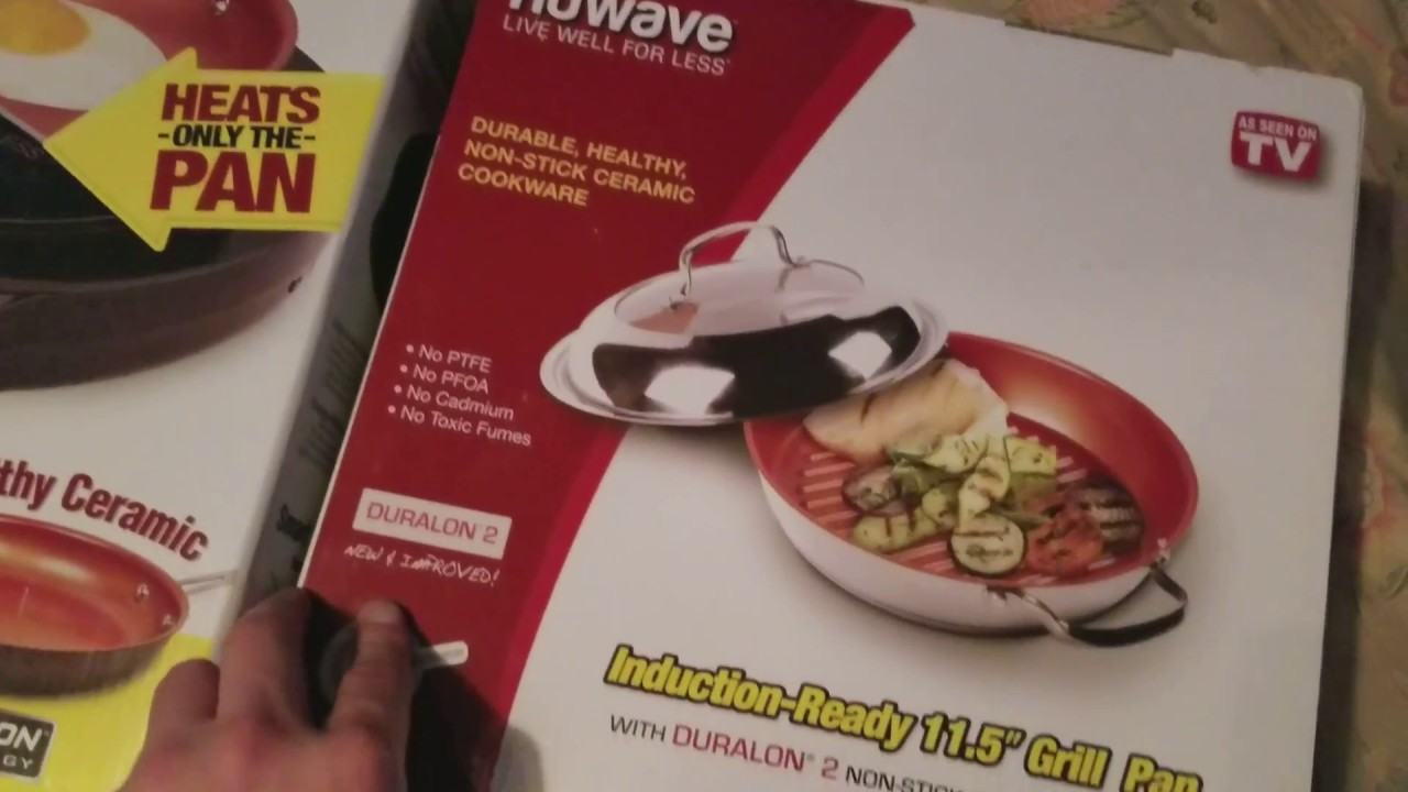 Nuwave Induction Cooktop Pic Gold And 11 5 Grill Pan