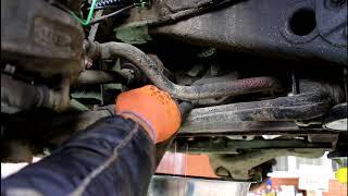 Замена масла в редукторе переднего моста Land Rover Discovery 3 Ленд Ровер Дискавери 3