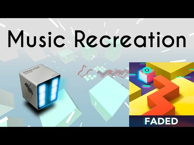 Dancing Line - The Faded Original (Music Recreation/Remix)