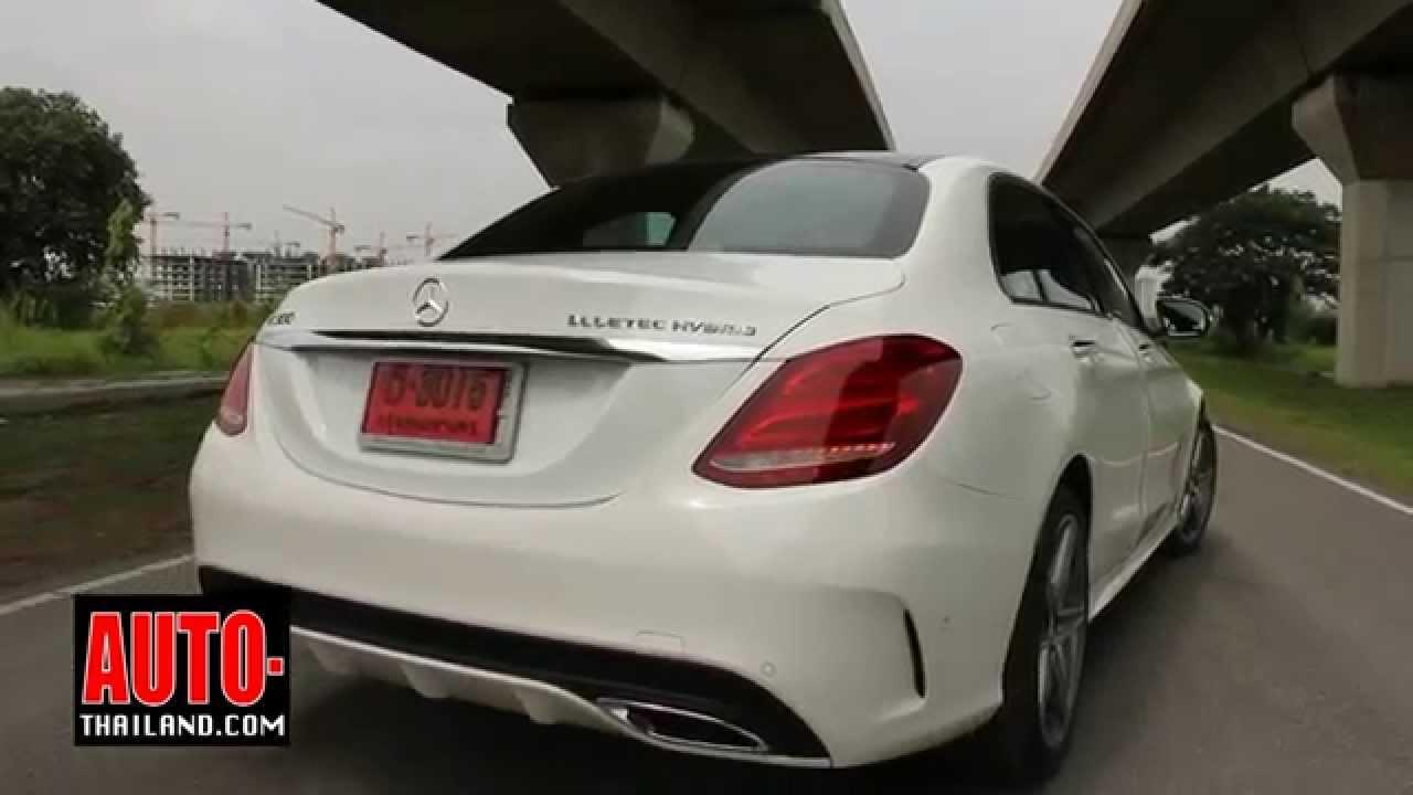 Testdrive Mercedes Benz C300 Bluetec Hybrid Amg Dynamic