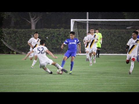'00/'01: LA Galaxy Academy vs Pateadores Academy