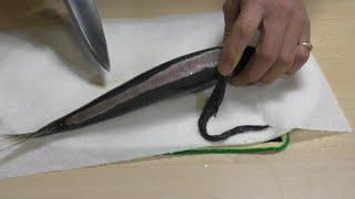簡単 アジのお刺身 こんな作り方もありますよ!
