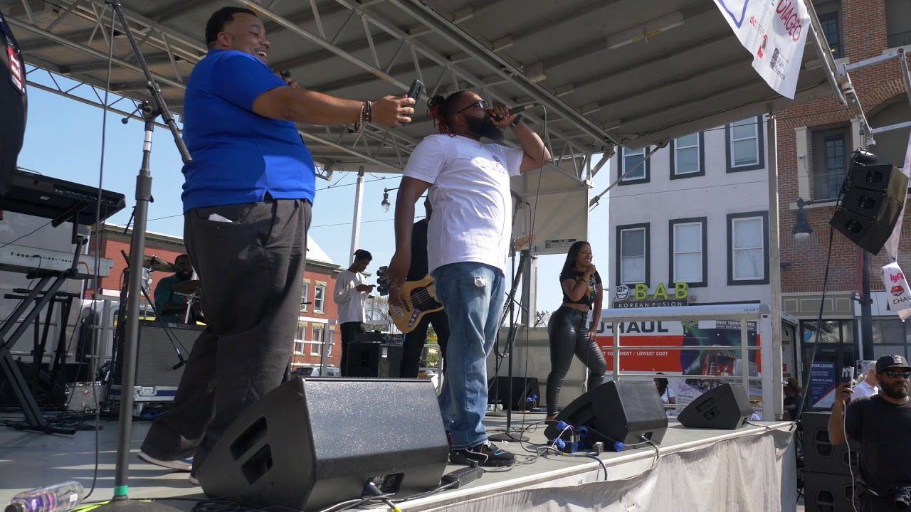The Experience Band & Show at D.C.'s H Street Festival 2019